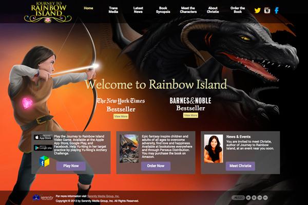 Journey to Rainbow Island website